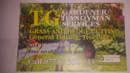 TG Gardener/Handyman Services