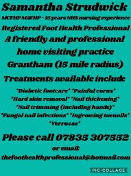 Samantha Strudwick The foot professional MCFHP MAFHP