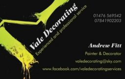 Vale Decorating