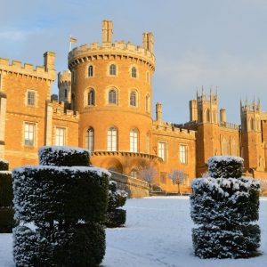 Belvoir Castle in the snow (1)